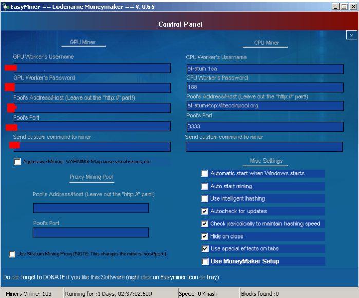 استخراج بیت کوین با کامپیوتر - Easyminer 2