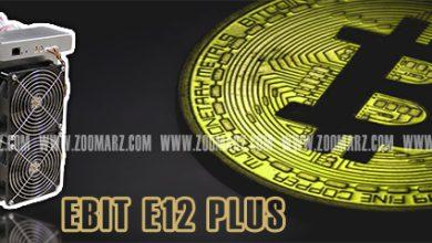 تصویر دستگاه ماینر E12 Plus   نقد و بررسی دستگاه ماینر +E12