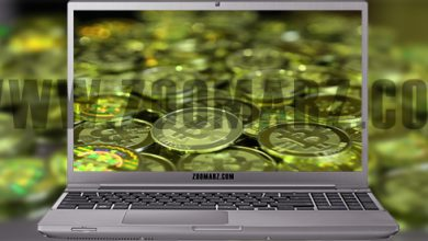 تصویر استخراج بیت کوین با کامپیوتر