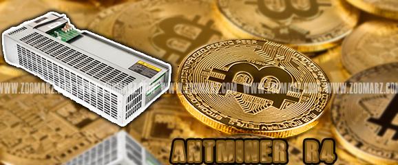 دستگاه ماینر Antminer R4 8.7Th - زوم ارز