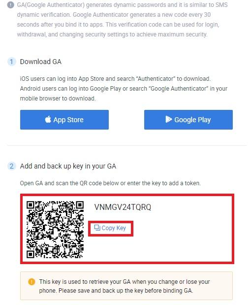 اپلیکیشن Google Authenticator را برای نسخه های اندروید و آی او اس تلفن همراه دانلود کنید