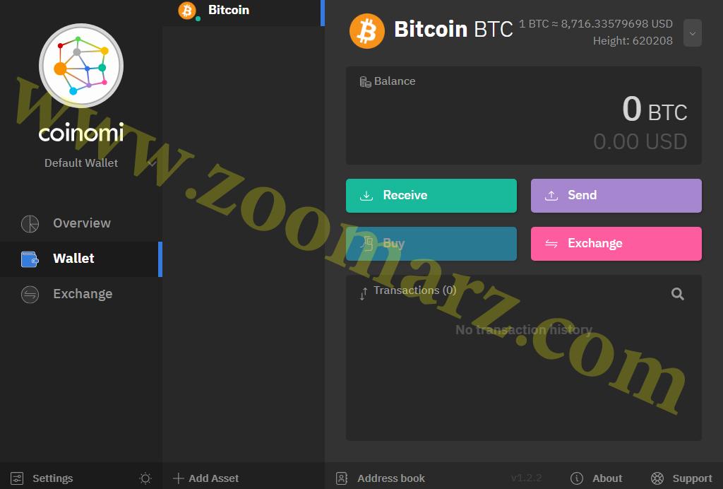 با انتخاب هر ارز می توانید وارد صفحه کنترل مربوط به همان ارز شوید