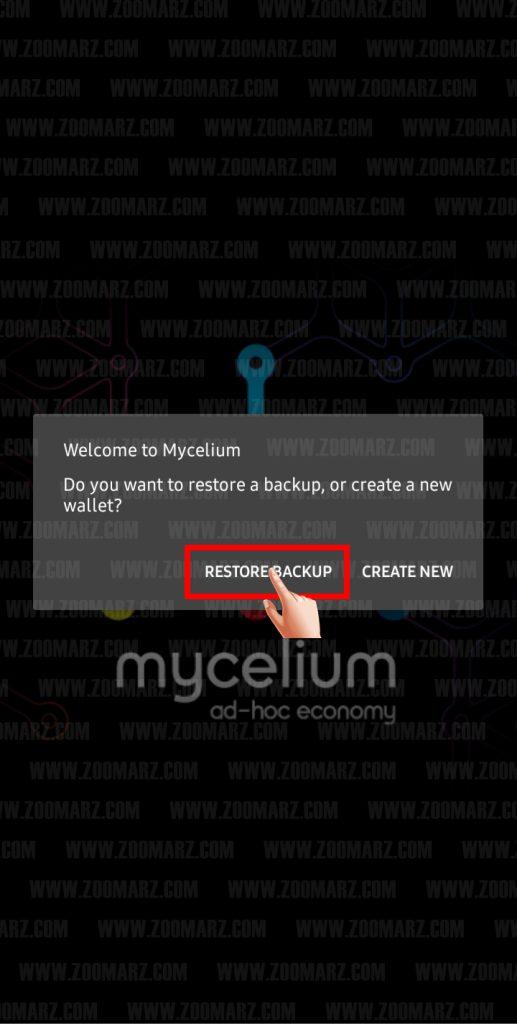 آموزش ساخت کیف پول MyCelium - عکس اول