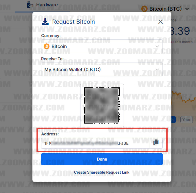 طریقه دریافت در کیف پول بلاک چین