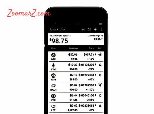 برنامه مدیریت خرید و فروش ارز دیجیتال - زوم ارز