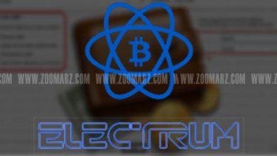 تصویر کیف پول الکتروم | آموزش تصویری ساخت کیف پول electrum