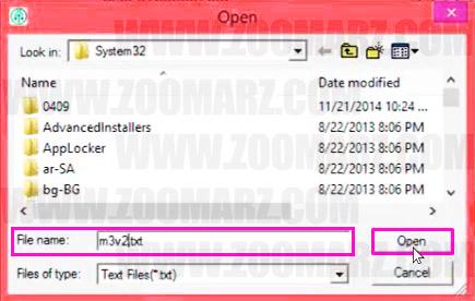 انتخاب فایل استخراج - راه اندازی دستگاه های WhatsMiner