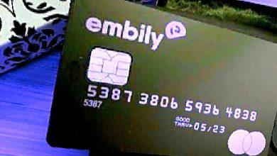 خرید آسان با بیت کوین وارزهای دیجیتال با کارت های اعتباری Embily