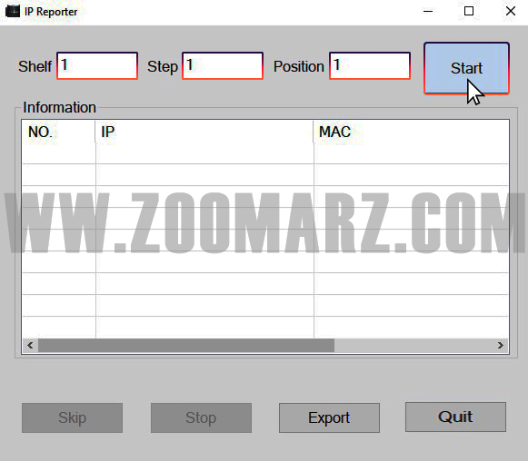 دانلود آیپی ریپورتر - راه اندازی دستگاه ماینر FusionSilicon X7