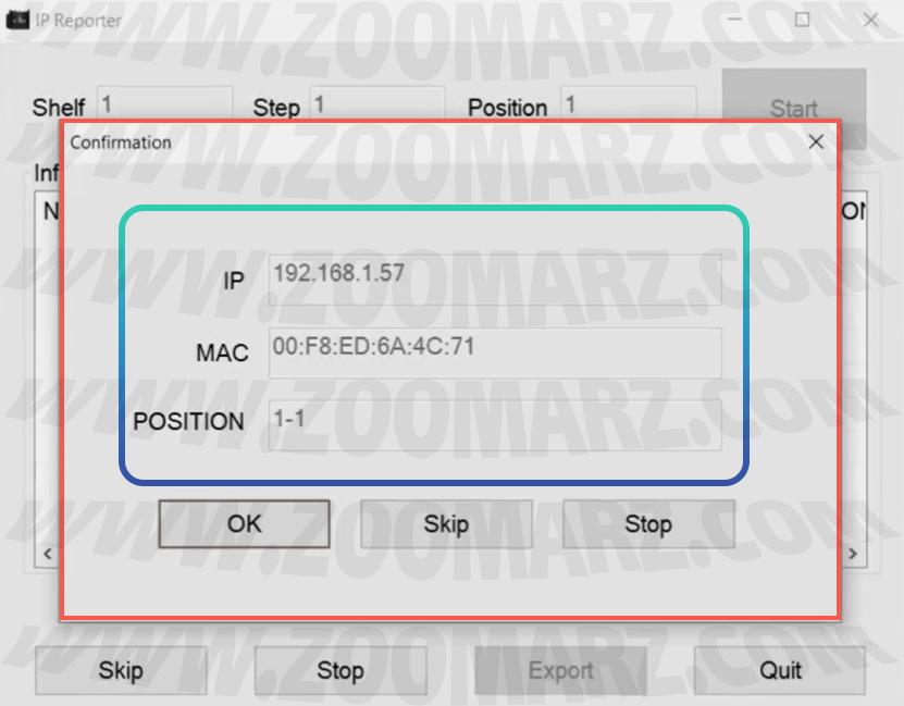 تعیین آی پی - راه اندازی دستگاه ماینر Antminer S7