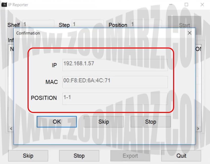 راه اندازی دستگاه ماینر Antminer S9 - تغییر آی پی