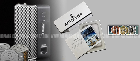 نصب دستگاه ماینر AntRouter R1 - زوم ارز
