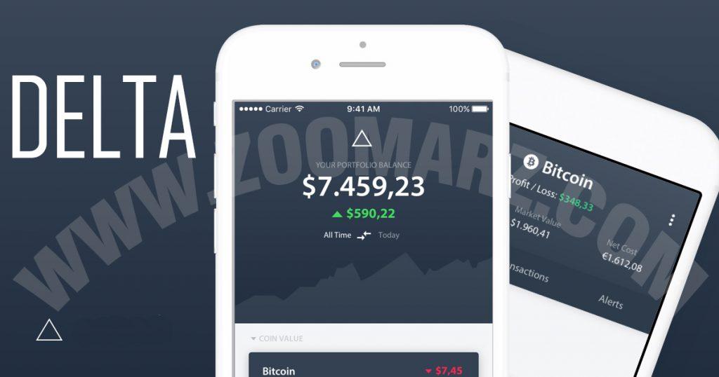 """اپلیکیشن """" Delta """" برای بازار رمز ارزها"""