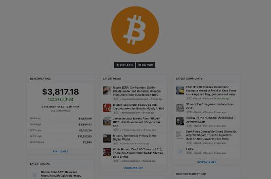 بیت کوین تب - افزونه های ارزهای دیجیتال