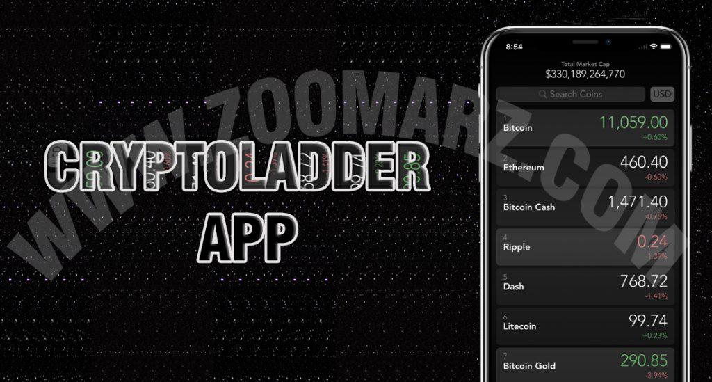 """اپلیکیشن """" CryptoLadder """" برای بازار های ارز دیجیتال"""