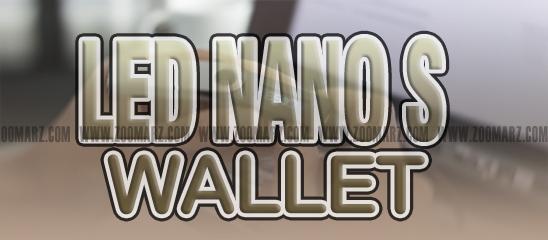 """"""" Ledger Nano S """" for monero"""