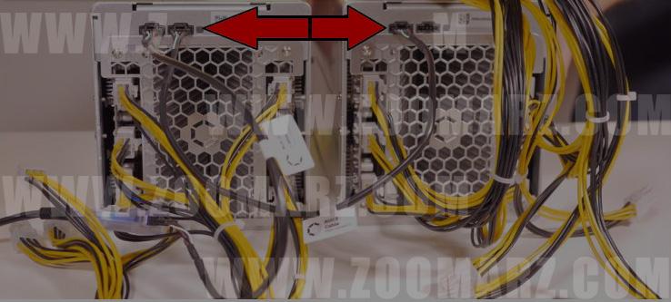 اتصال چندین ماینر به سویچر -851