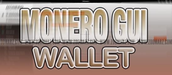 """کیف پول """" Monero GUI """" برای ارز دیجیتال مونرو"""