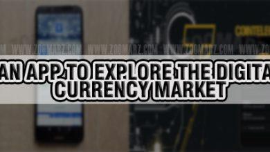 معرفی اپلیکیشن برای بررسی بازار ارزهای دیجیتال