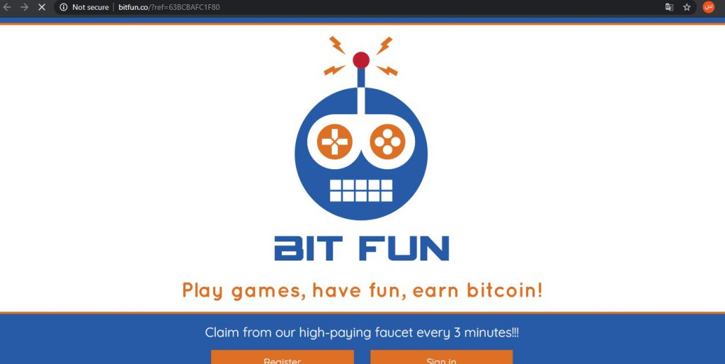 bitfun - به دست آوردن بیت کوین رایگان