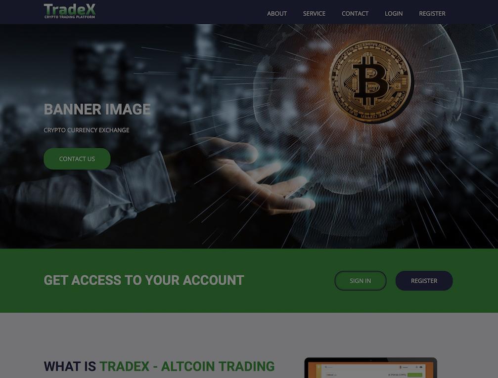 tradex - افزونه های ارزهای دیجیتال