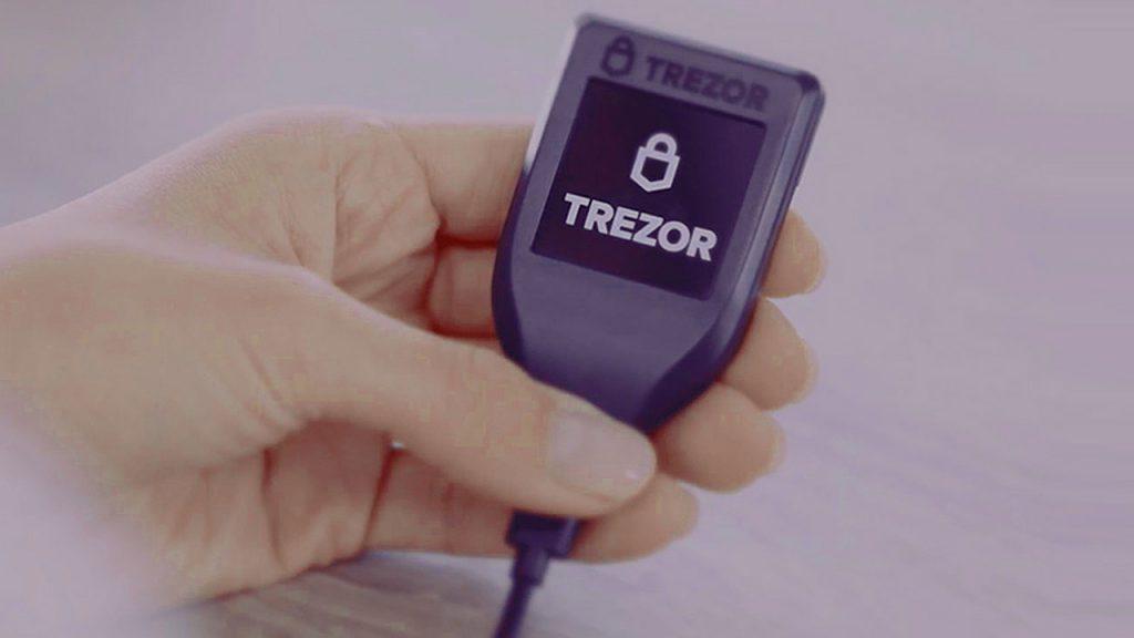 """کیف پول سخت افزاری """" Trezor """"بهترین کیف پول لاین کوین"""