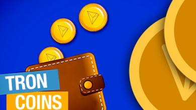 تصویر کیف پول ترون tron |  آموزش تصویری نصب و ثبت نام و کار با کیف پول ترون ولت