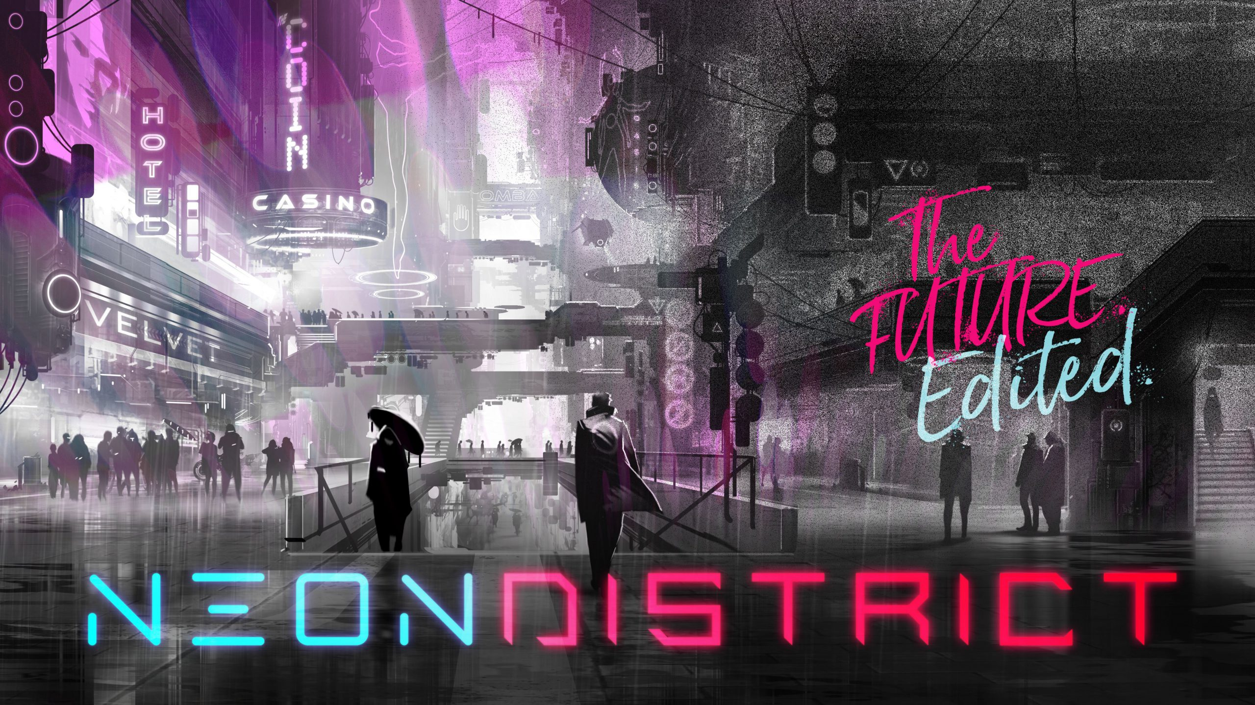 Neon District بازی مربوط به ارز دیجیتال