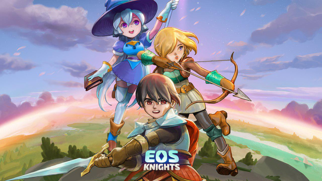 Eos Knights بازی مربوط به ارز دیجیتال
