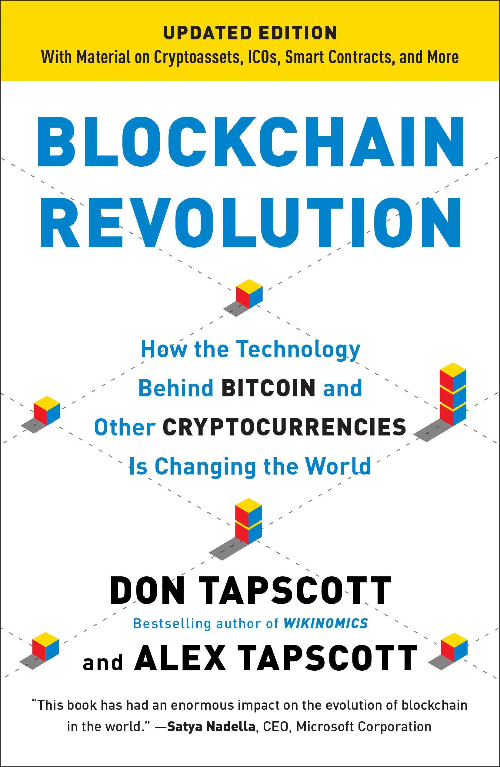 کتاب درمورد بیت کوین و ارزدیجیتال Blockchain Revolution