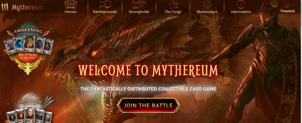 Mythereum بازی با موضوع ارز دیجیتال