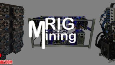 تصویر انواع ریگ ماینینگ | معرفی انواع ریگ ماینینگ و تجهیزات لازم برای ریگ استخراج
