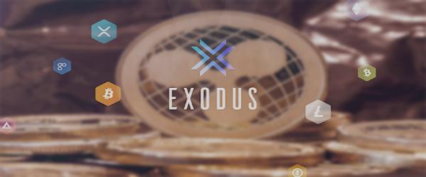 کیف پول های ارز دیجیتال ریپل نسخه کامپیوتر کیف پول اکسودوس ( Exodus )