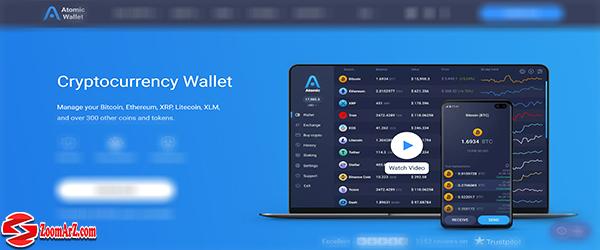 معرفی کیف پول های ارز دیجیتال چین لینک ChainLink ، کیف پول اتمیک ( Atomic Wallet )