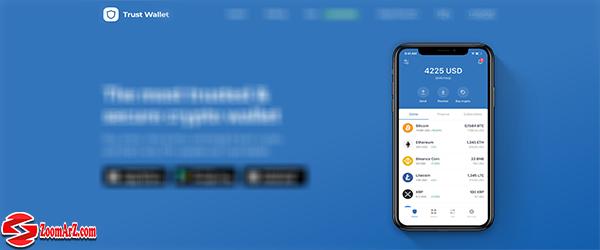 معرفی کیف پول های ارز دیجیتال چین لینک ChainLink     5. کیف پول تراست (Trust Wallet )