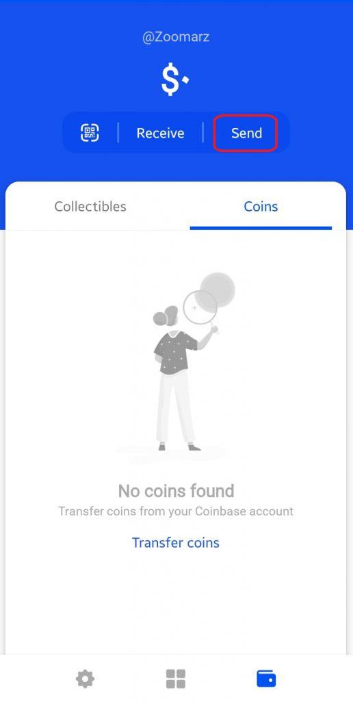 کیف پول coinbase ،طریقه ارسال ارز های دیجیتال در کیف پول کوین بیس