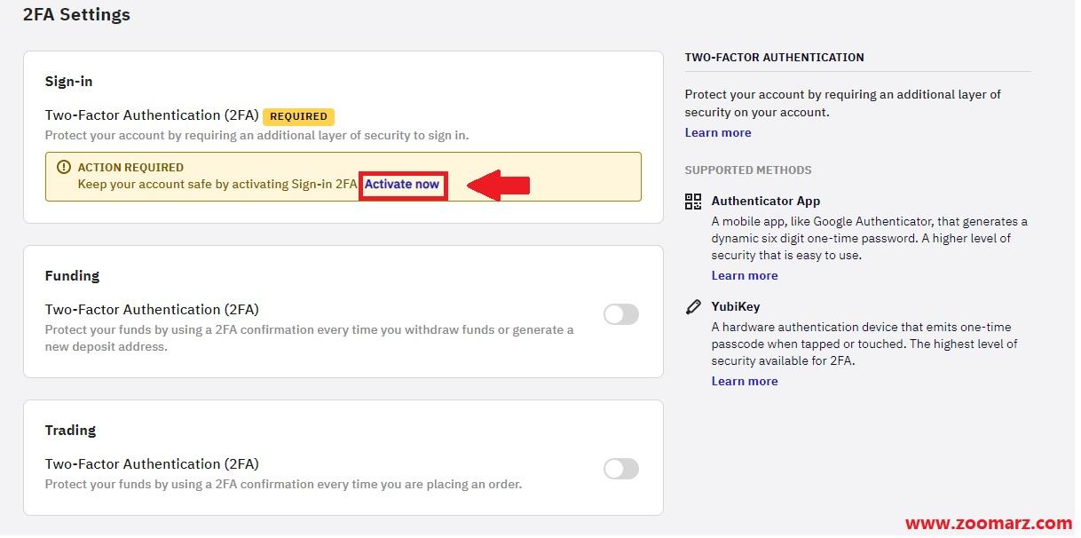 روی گزینه Activate now کلیک نمایید