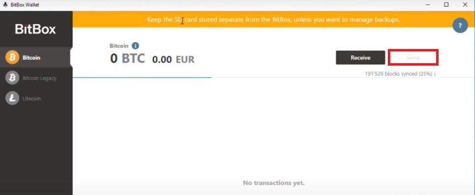 چگونه با کیف پول بیت باکس2 ارز دیجیتال ارسال کنیم؟