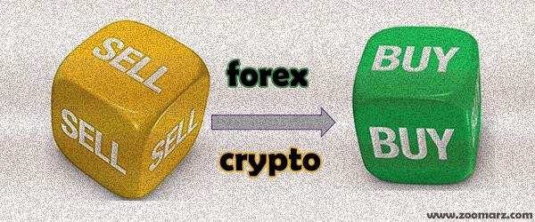 تفاوت های خرید و فروش در بازار ارز های دیجیتال و فارکس چیست؟