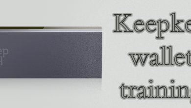 آموزش keepkey