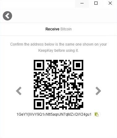 آموزش دریافت ارز دیجیتال در کیف پول کیپ کی