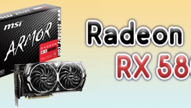 کارت گرافیک Radeon rx580 برای استخراج