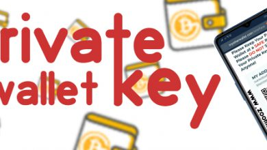 در صورت گم شدن کلید خصوصی چه اتفاقی می افتد؟