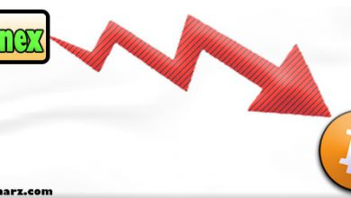 """تصویر """"پیش بینی ریزش قیمت بیت کوین بعد از رسیدن به 12000 دلار"""""""