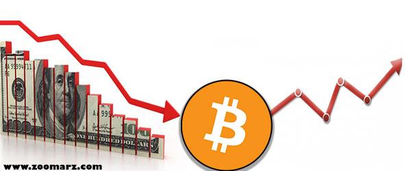 تصویر آیا ضعف دلار منجر به افزایش بیت کوین به  12000 دلار خواهد شد؟