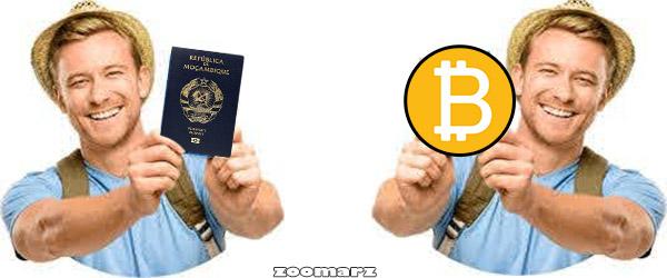 گرفتن پاسپورت آمریکا با بیت کوین
