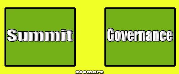 برسی رویداد - Governance و Summit: