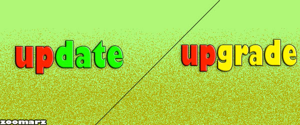 برسی رویداد Upgrade و Update:
