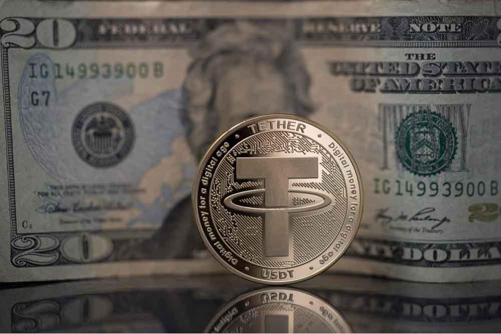 پشتیبانی تتر با دلار آمریکا