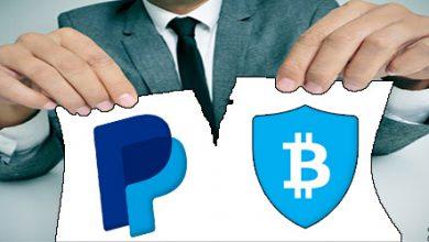 فسخ معامله PayPal و BitGo